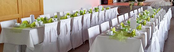 Hochzeitsdeko selber machen gruen
