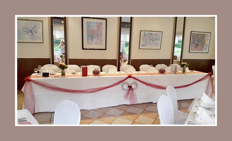 Rot Weisse Hochzeitsdeko Von Daniela Thomas Ab 1