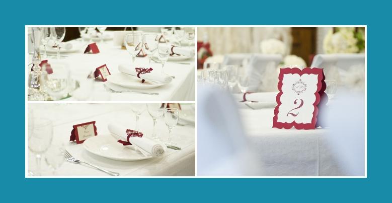 Hochzeitsdeko Servietten