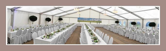 Hochzeitsdekoration Zelt pavillion padoge