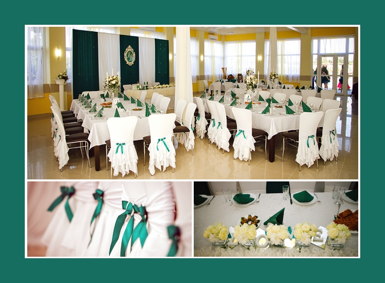 Restaurant Hochzeit Dekoration