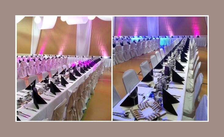 Tischdeko Hochzeit grosse Hochzeitsfeier