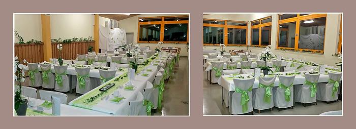 Tischdeko / Raumdeko Hochzeit