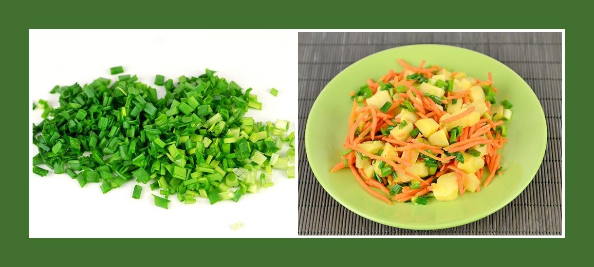 Pikanter Kartoffelsalat mit Schnittlauch