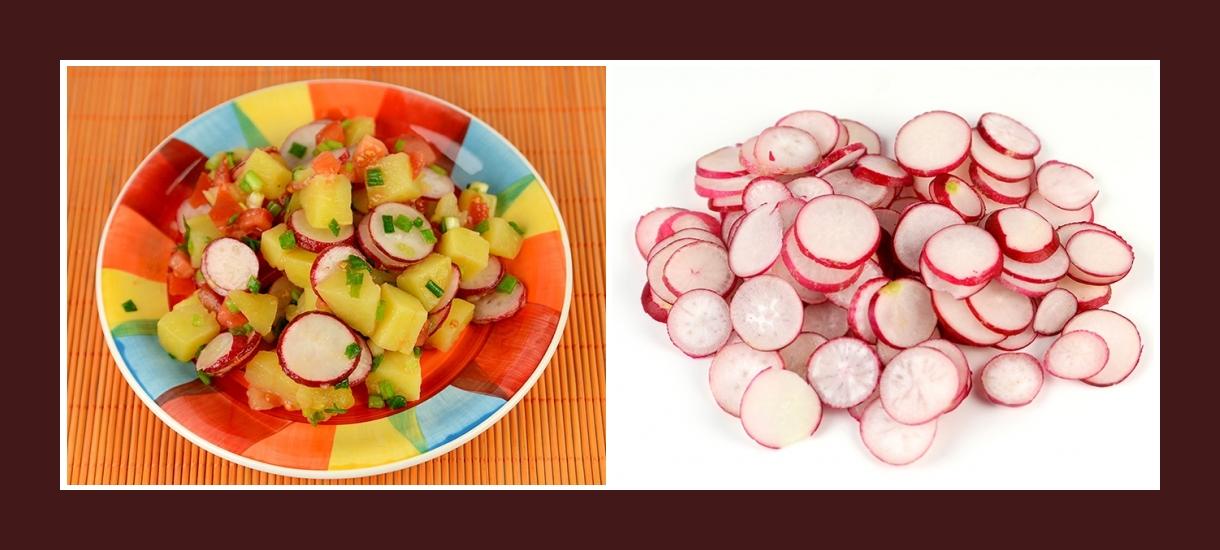 Bunter Kartoffelsalat mit Radieschen