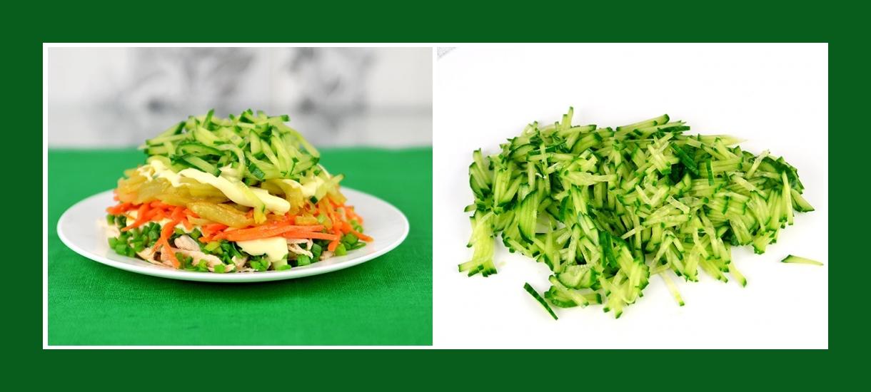 Pikanter Kartoffelsalat mit Gurken