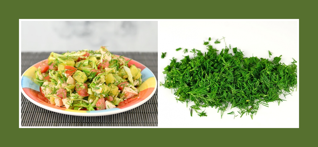 Zarter Kartoffelsalat mit Dill