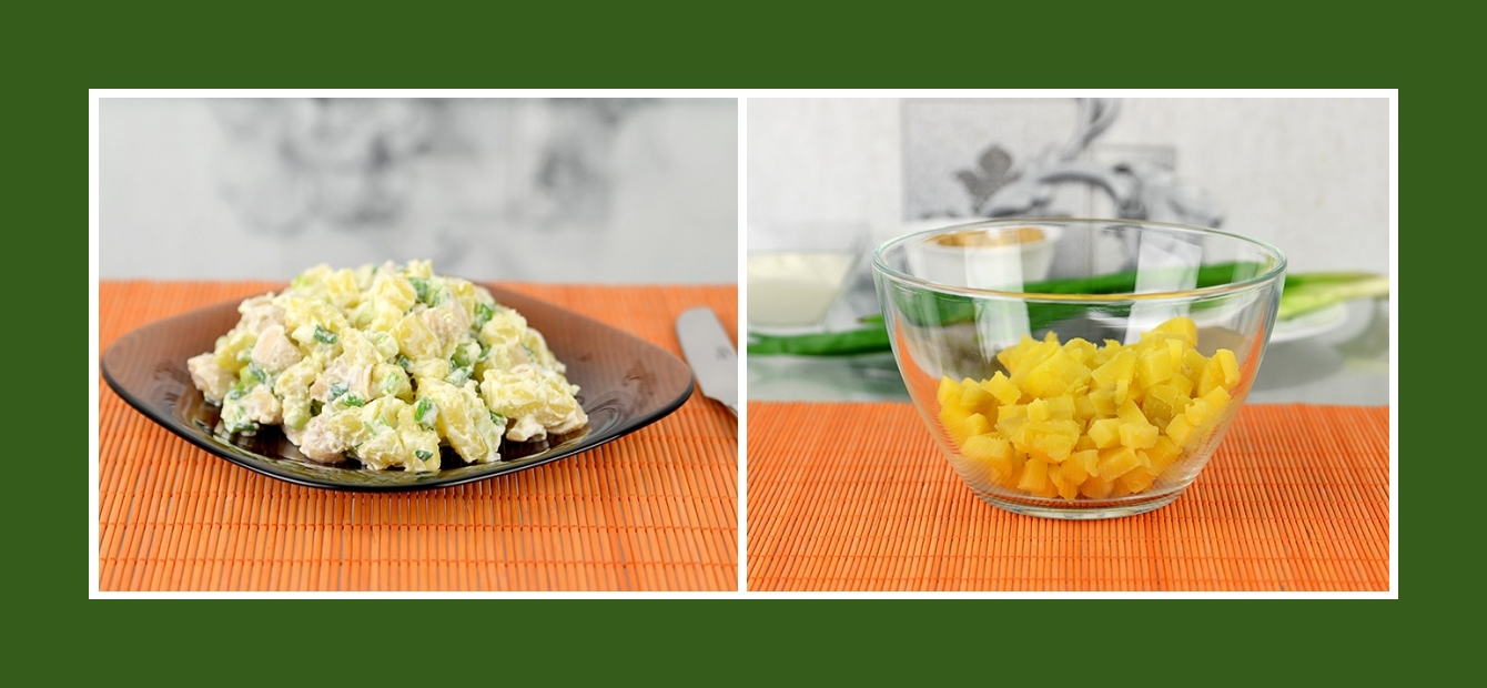 Einfacher Kartoffelsalat für jede Jahreszeit