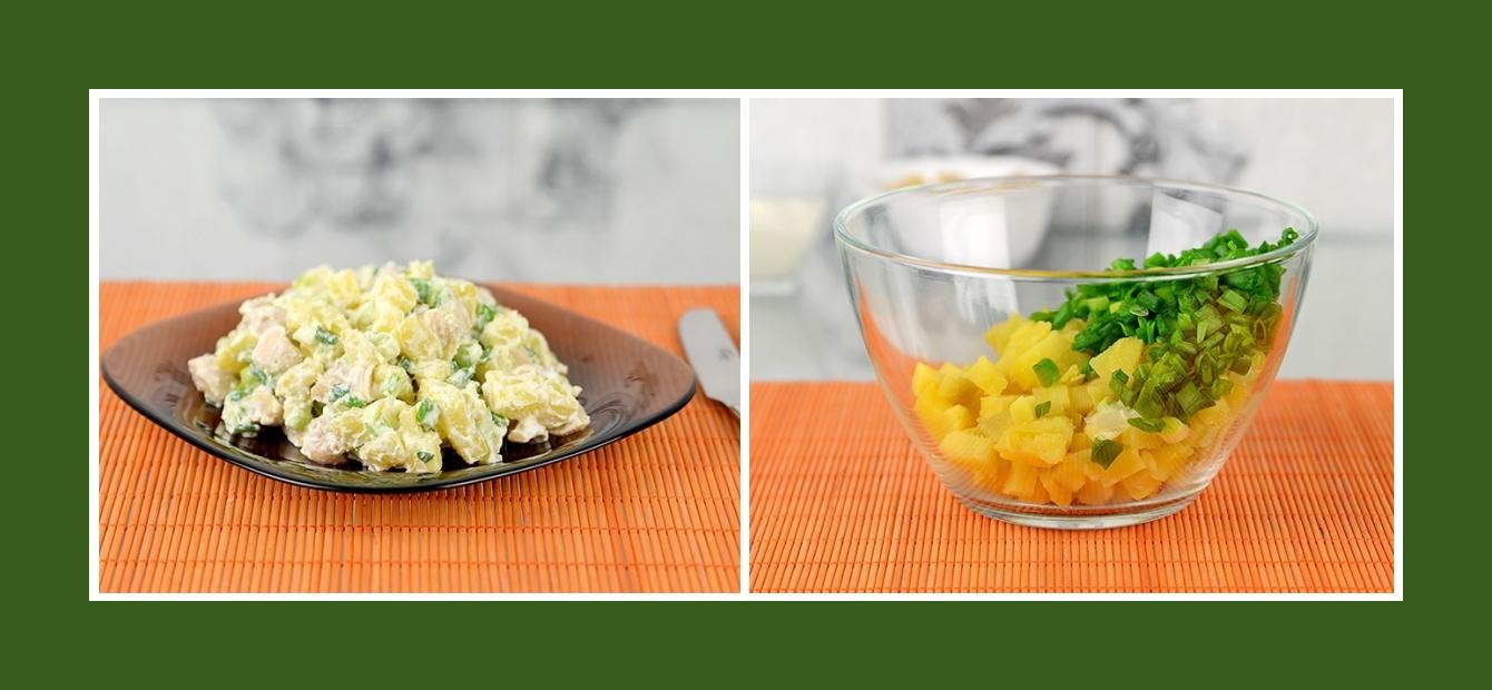 Kartoffelsalat mit Schnittlauch