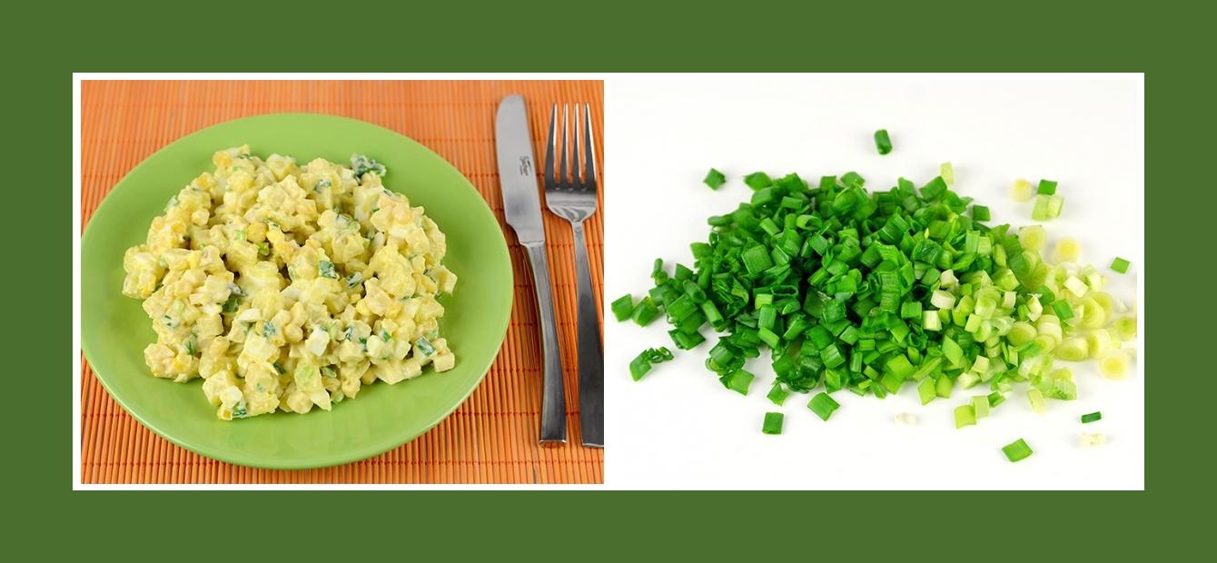 Köstlicher Kartoffelsalat mit würzigem Schnittlauch