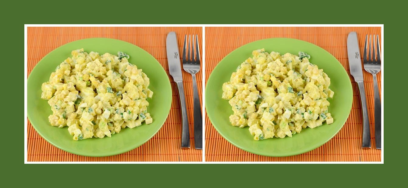 Erfrischender Kartoffelsalat mit Äpfeln zum Geburtstag, Ostern, Weihnachten