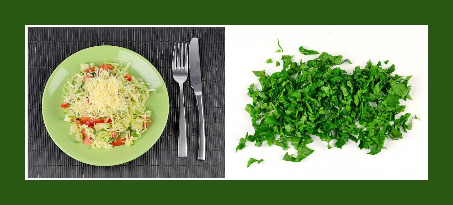 Frühlingssalat Kartoffelsalat mit pikanter Petersilie