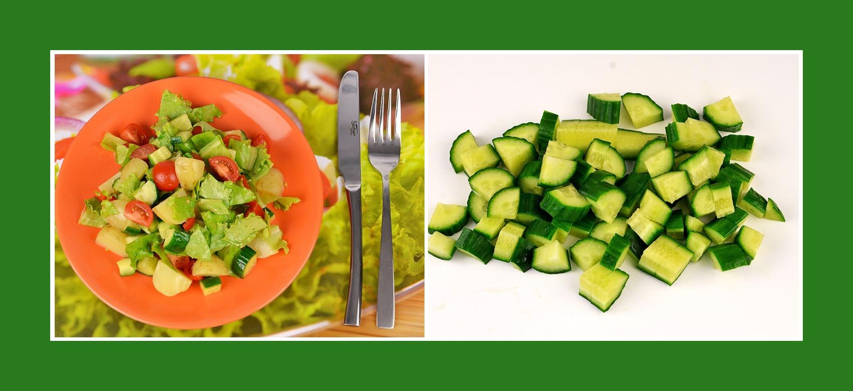 Gurken für Frühkartoffelsalat