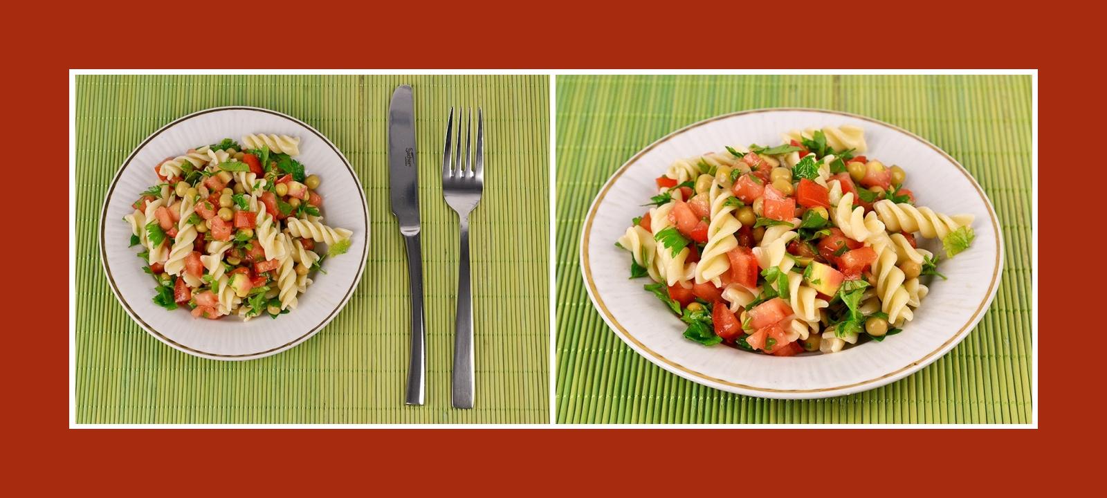 Leckerer Nudelsalat zum schnellen Zubereiten