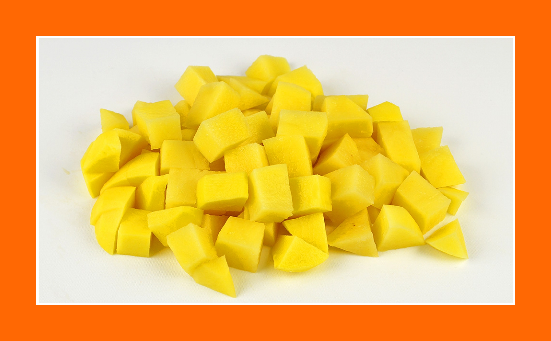 Kartoffeln für warmen Salat zu Oster