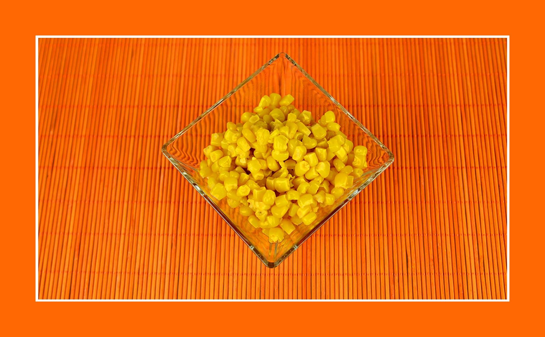 Kartoffelsalat mit Mais konserviert