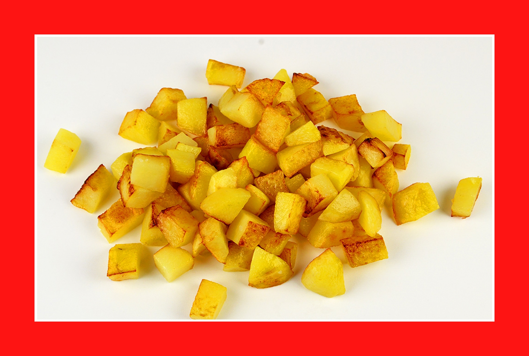 Warmer Kartoffelsalat Bratkartoffeln