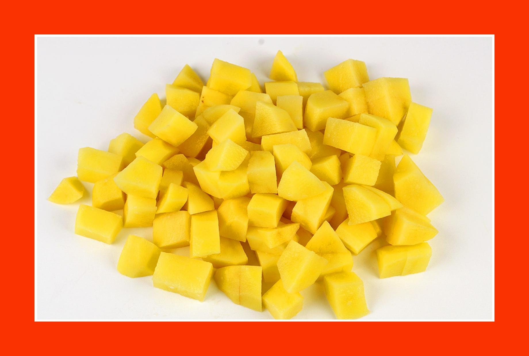 Kartoffeln für Salat zum Grillen