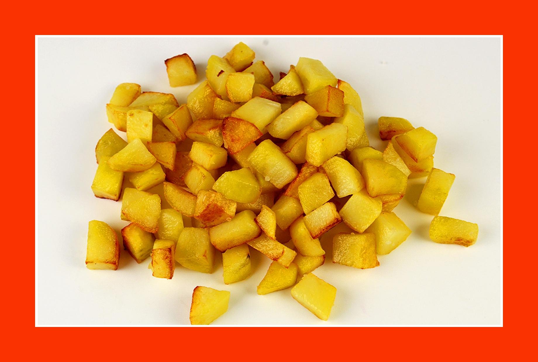 Warmer Kartoffelsalat zum Grillen