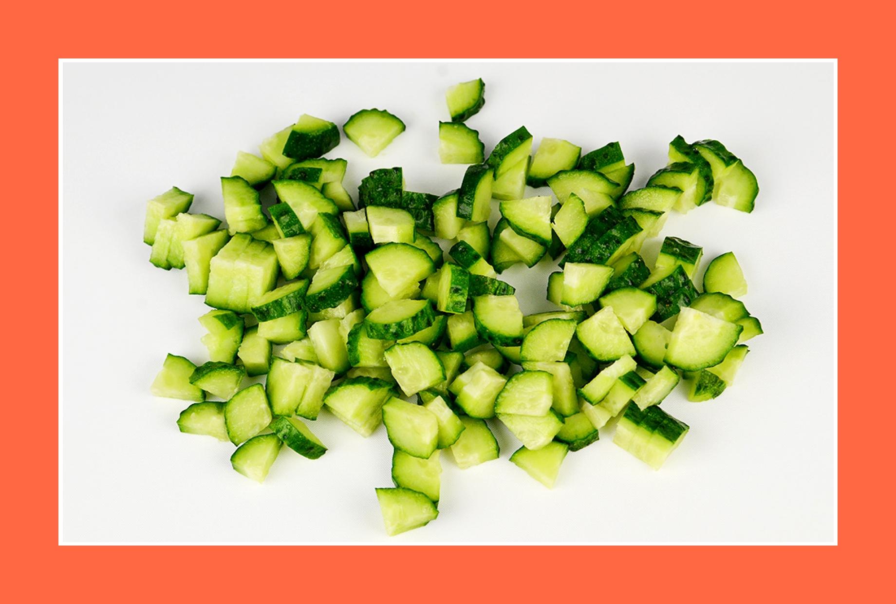 Gurkensalat Gurken für Fleischsalat
