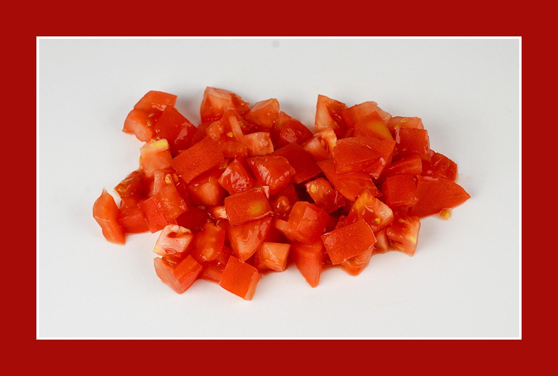 Salat zum Grillen Tomatensalat
