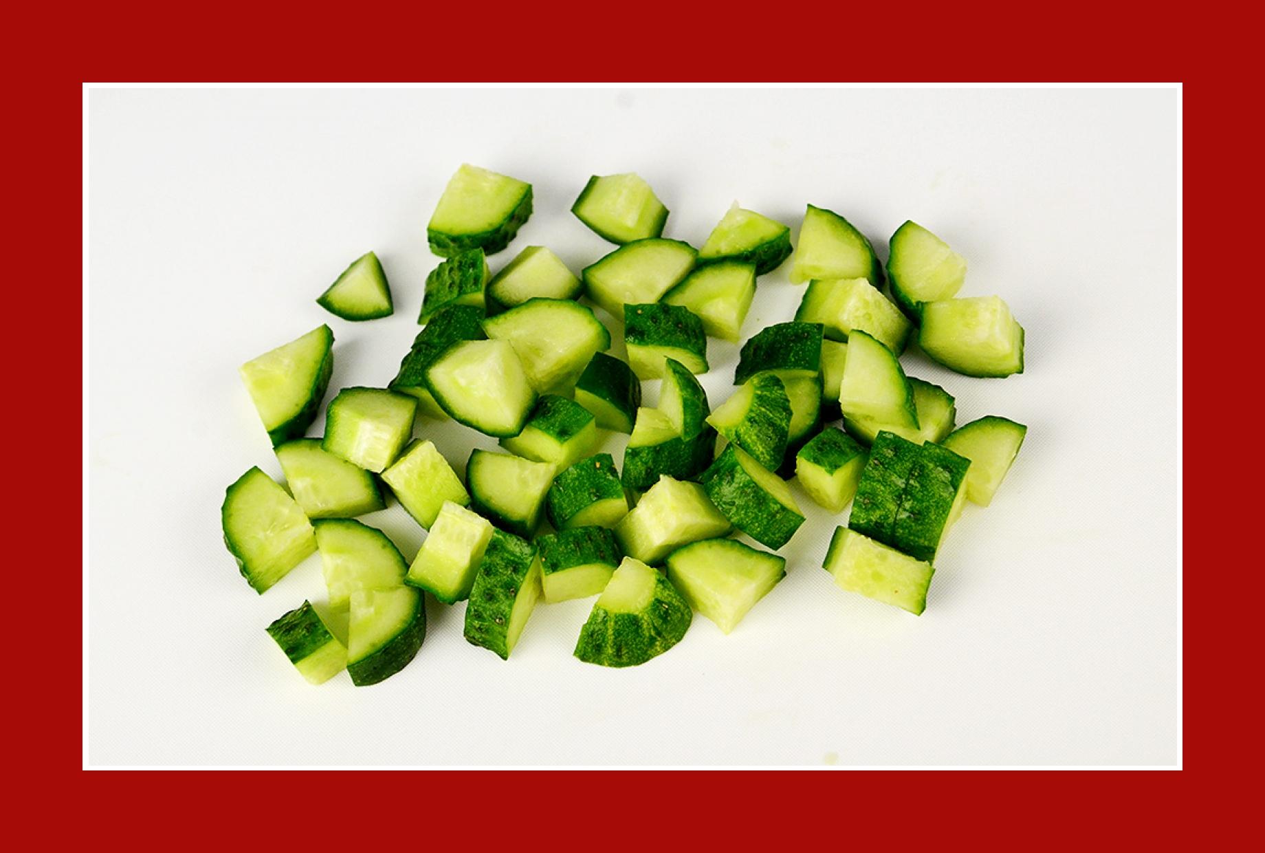Gurkensalat Salat zum Grillen