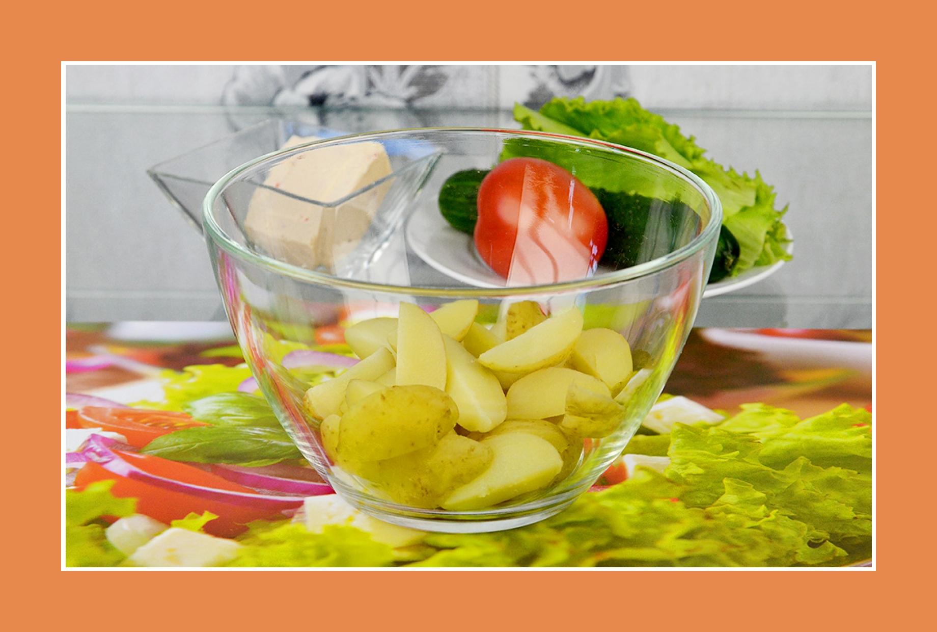 Kartoffelsalat Rezept mit Frühkartoffeln