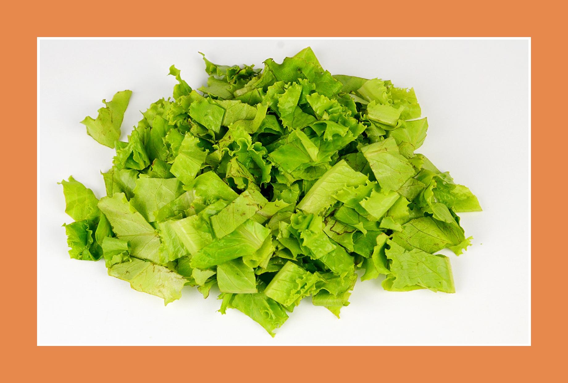 Eisbergsalat Gartensalat Rezept für Kartoffelsalat
