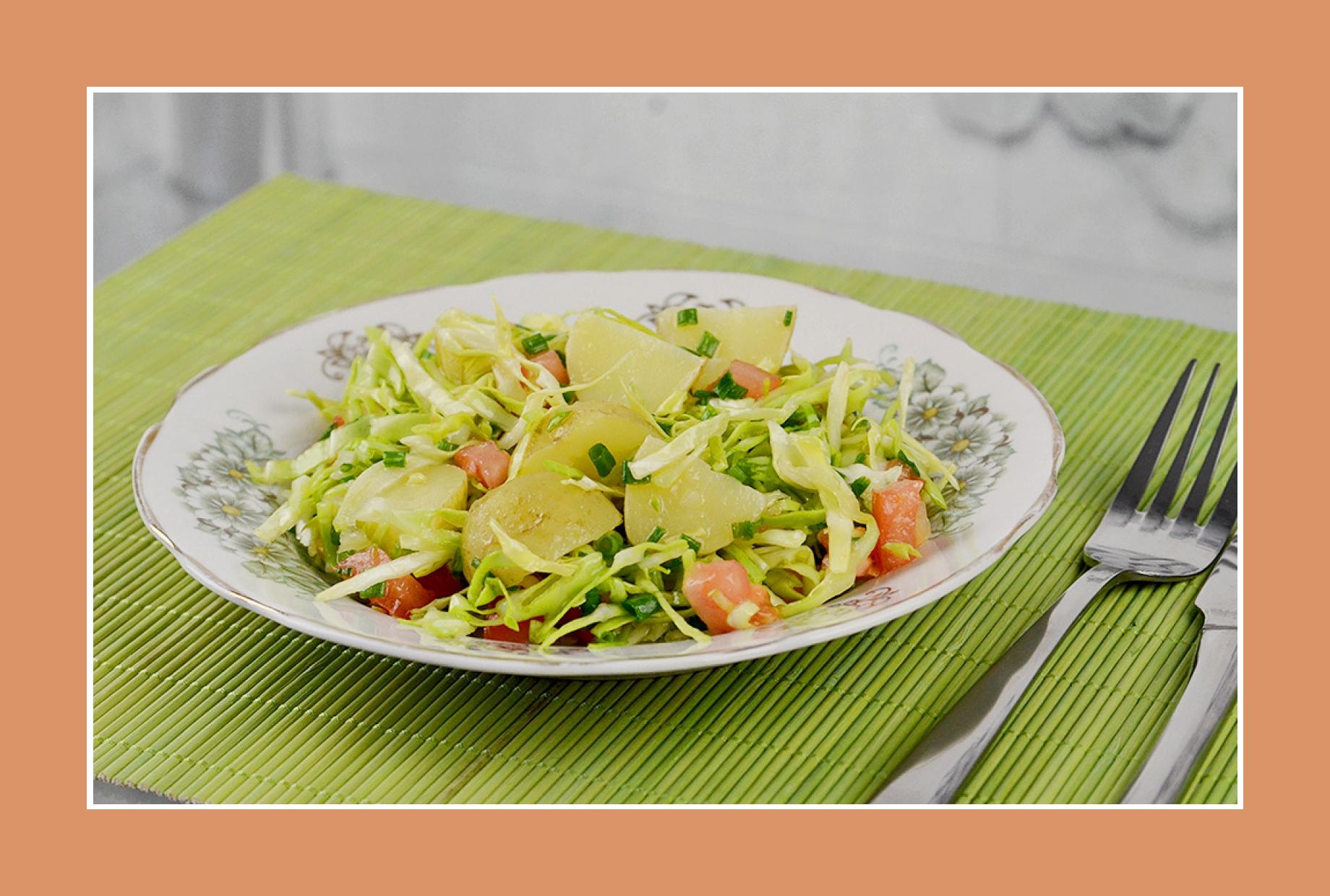 Kartoffelsalat Weißkrautsalat Sommersalat