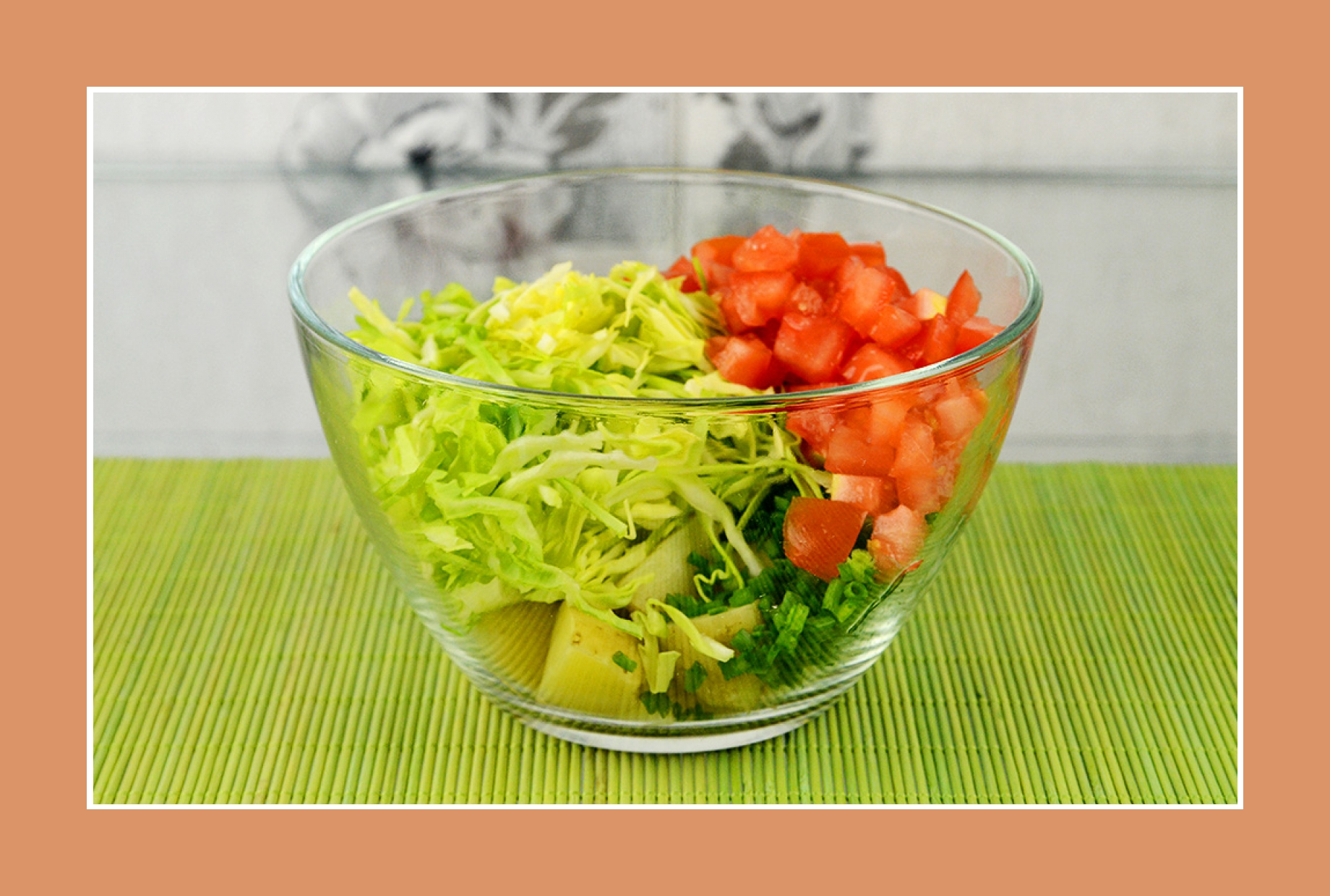 Tomaten für Kartoffelsalat Weißkrautsalat