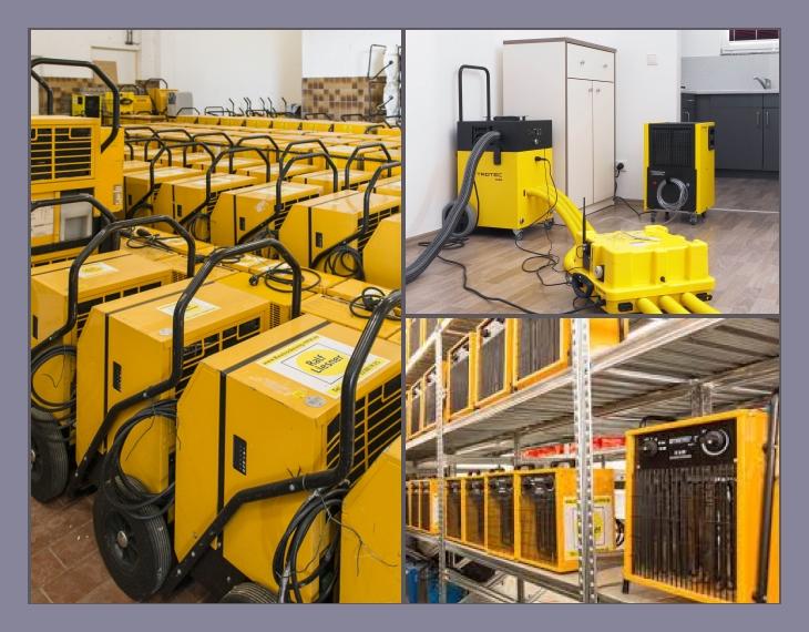 Ralf Liesner Bautrocknung GmbH & Co. KG Vermietung  Service  Heiden, Borken, Dorsten, Münster