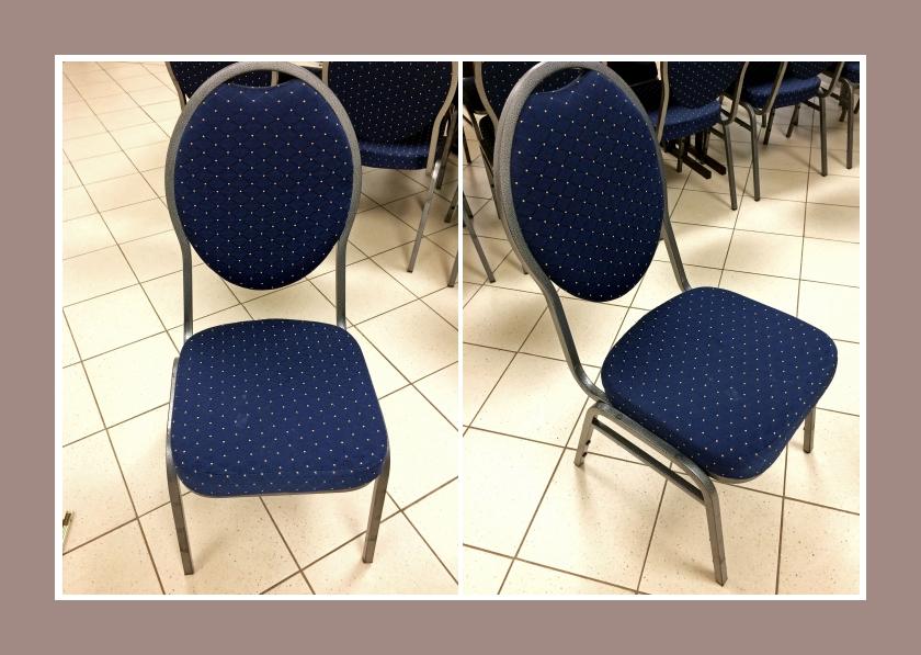 bankettstühle ovale lehne