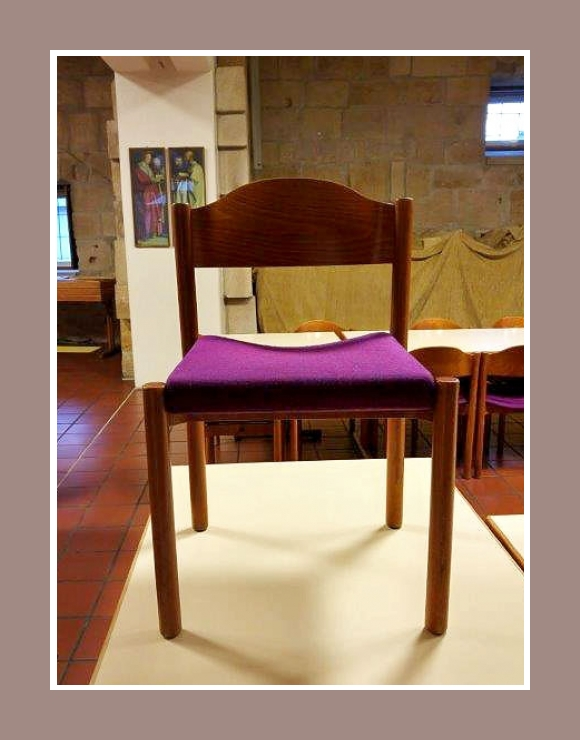 stapelbare stühle abgerundete lehne