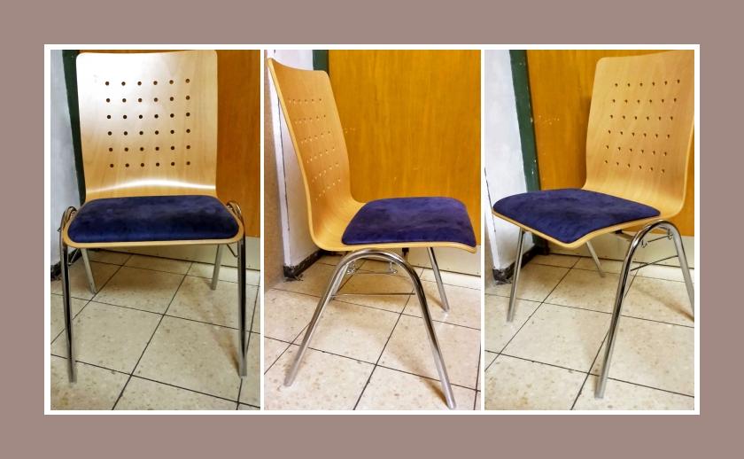 stapelbare stühle gepolstert