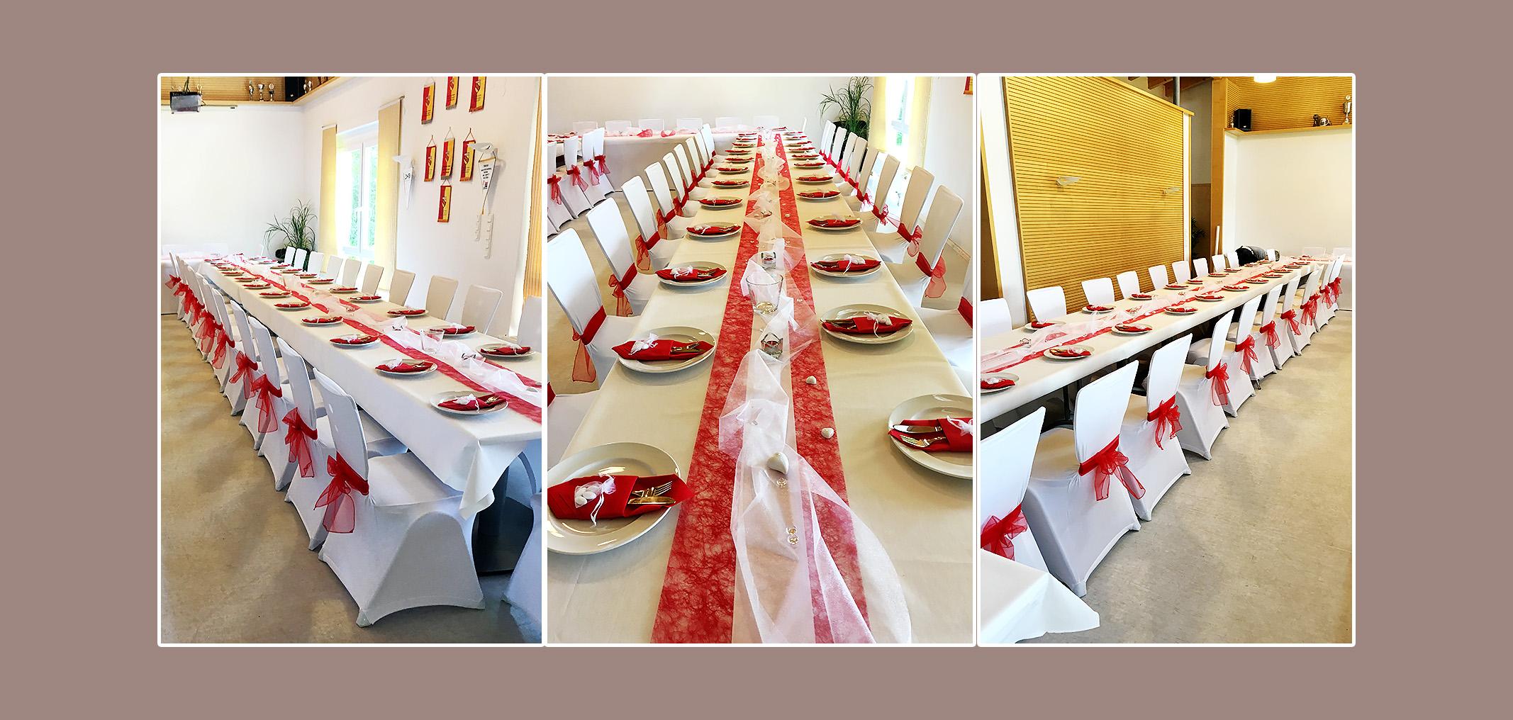 hochzeitsdeko-rot-weiss-mit-servietten-bestecktaschen-und-mandeln-gastgeschenken