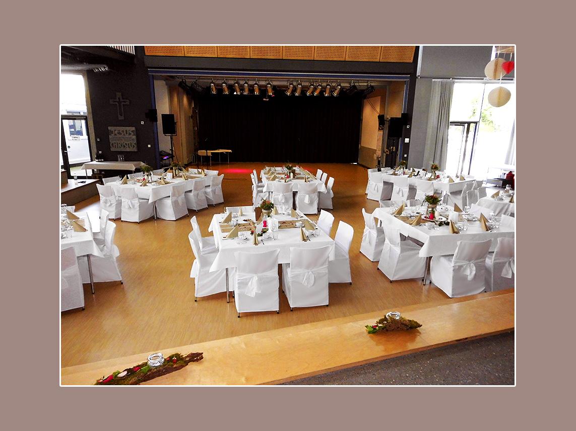 Hochzeitsdeko Stuhlhussen mieten Renningen Raum Stuttgart