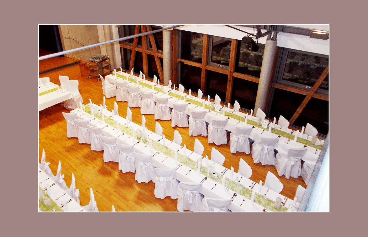 Deko in der Hochzeitslocation Sonnenhof Ebenweiler, Kreis Ravensburg