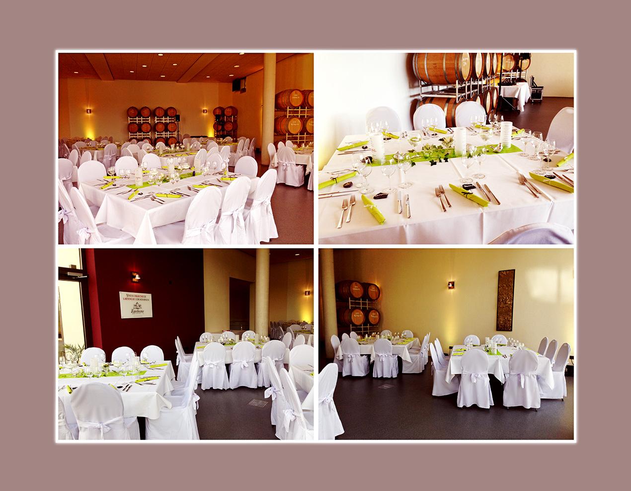 Hochzeit in der BarriqueScheune - Weingut Eppelmann in Stadecken-Elsheim bei Mainz