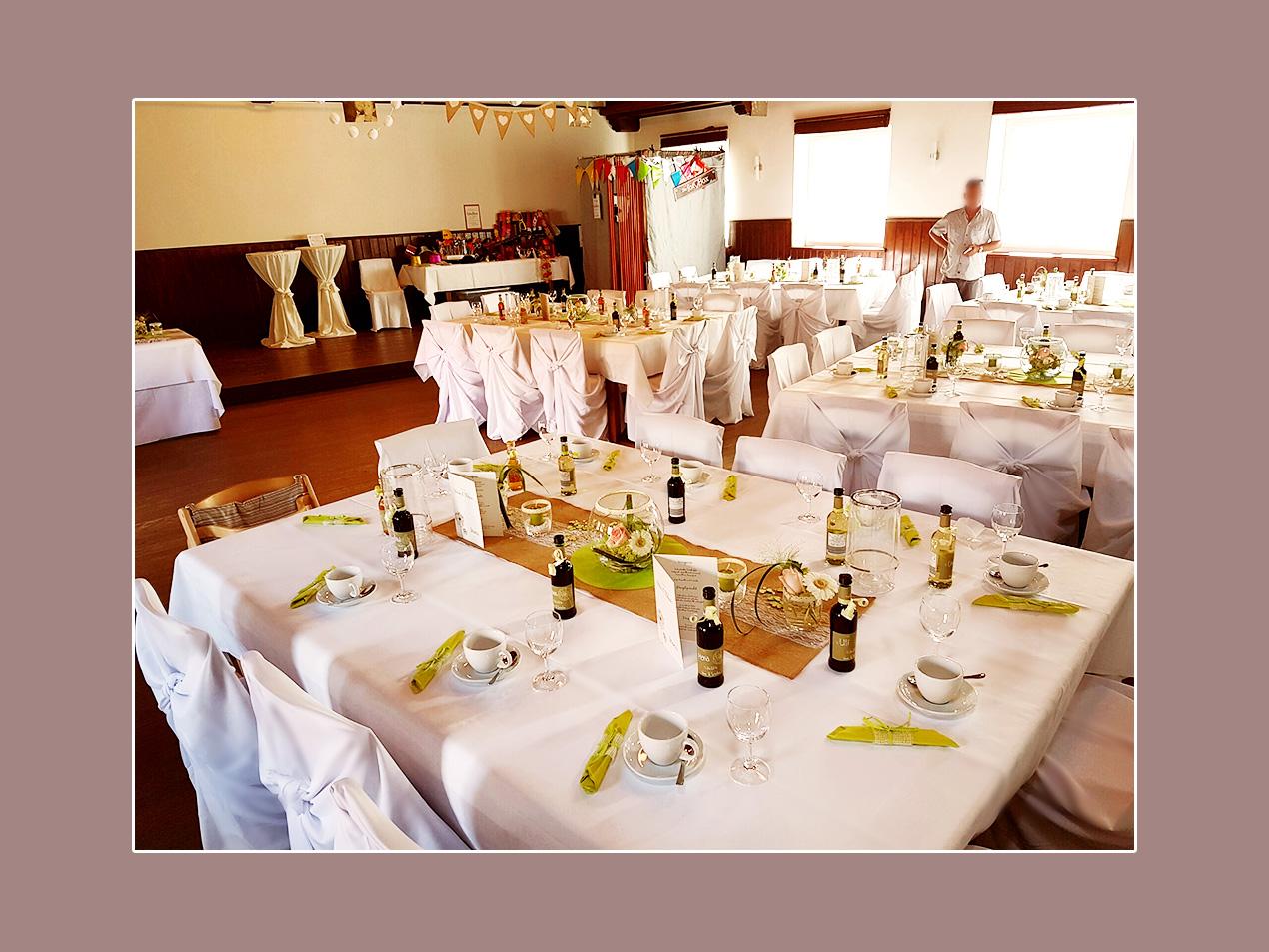 Hochzeit im Greßano Saal in Ebensfeld - Umgebung Bamberg, Coburg