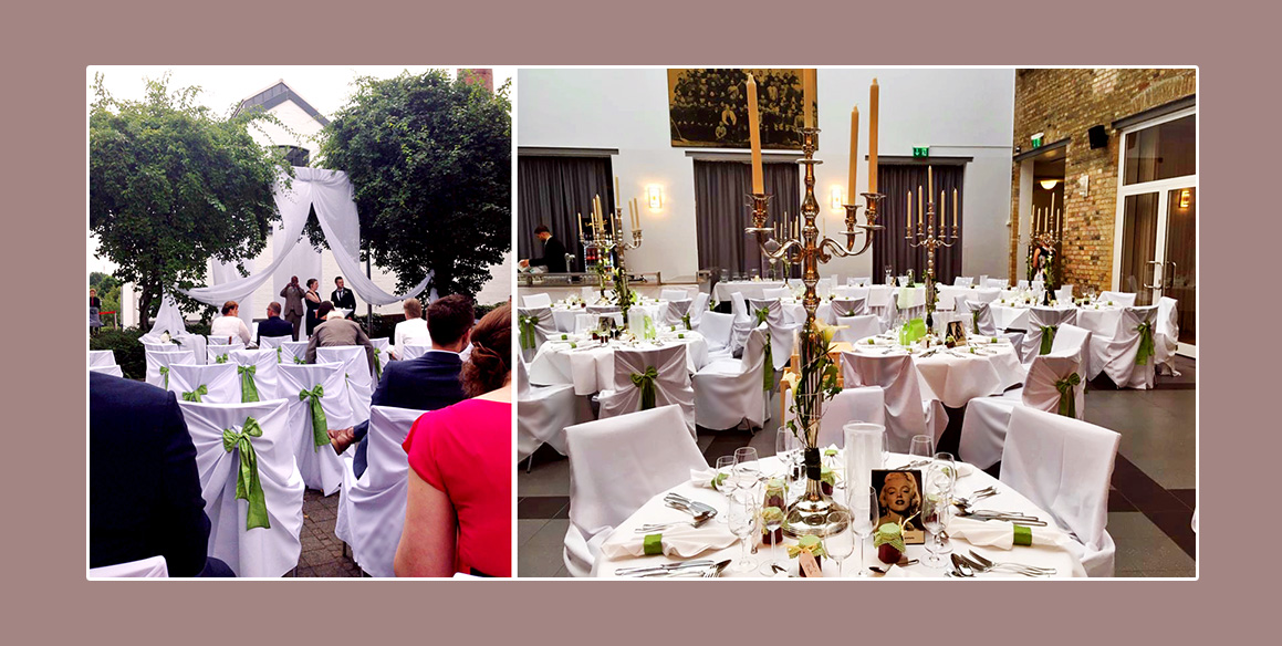 Hochzeit in der Strötmanns Fabrik in Emsdetten
