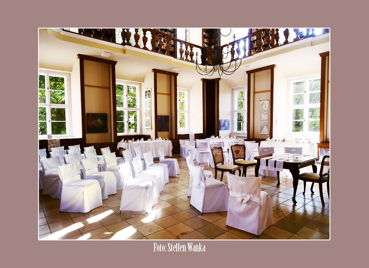 Hochzeit im Schloss von Ostau