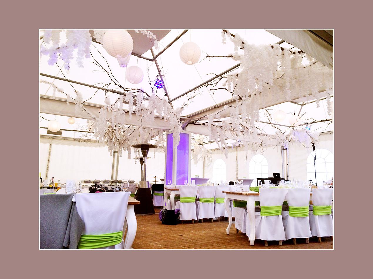 Asiatische Hochzeitsdeko - Hochzeitslocation Monberg in Monheim - Umgebung Düsseldorf