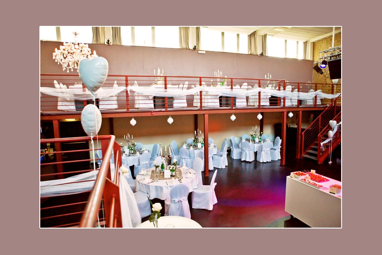 Stuhlhussen für Hochzeit Hochzeitslocation Altes Heizwerk in Bredstedt