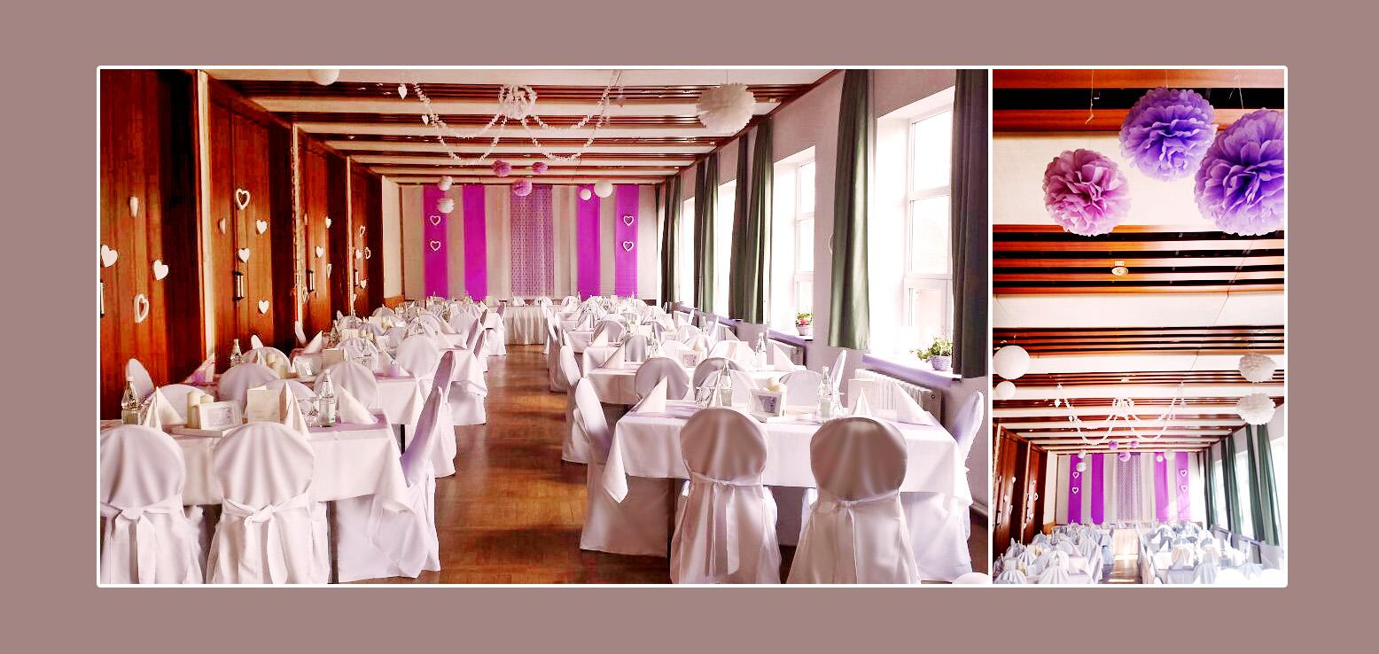 Hochzeit - Hochzeitslocation Volkshaus Friedland - Umgebung Neubrandenburg