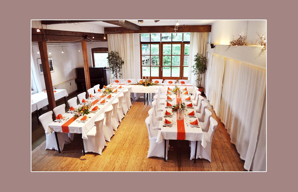 Stretchhussen für Hochzeit - Ferienhof Trapp in Dahleburg, Umgebung Lüneburg, Uelzen