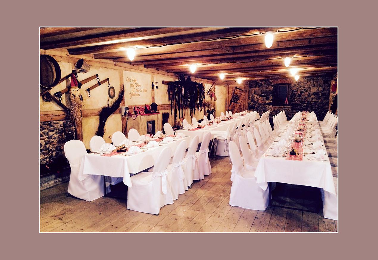Hochzeit feiern Q-Stall - Waldshut-Tingen,Umgebung Schopfheim