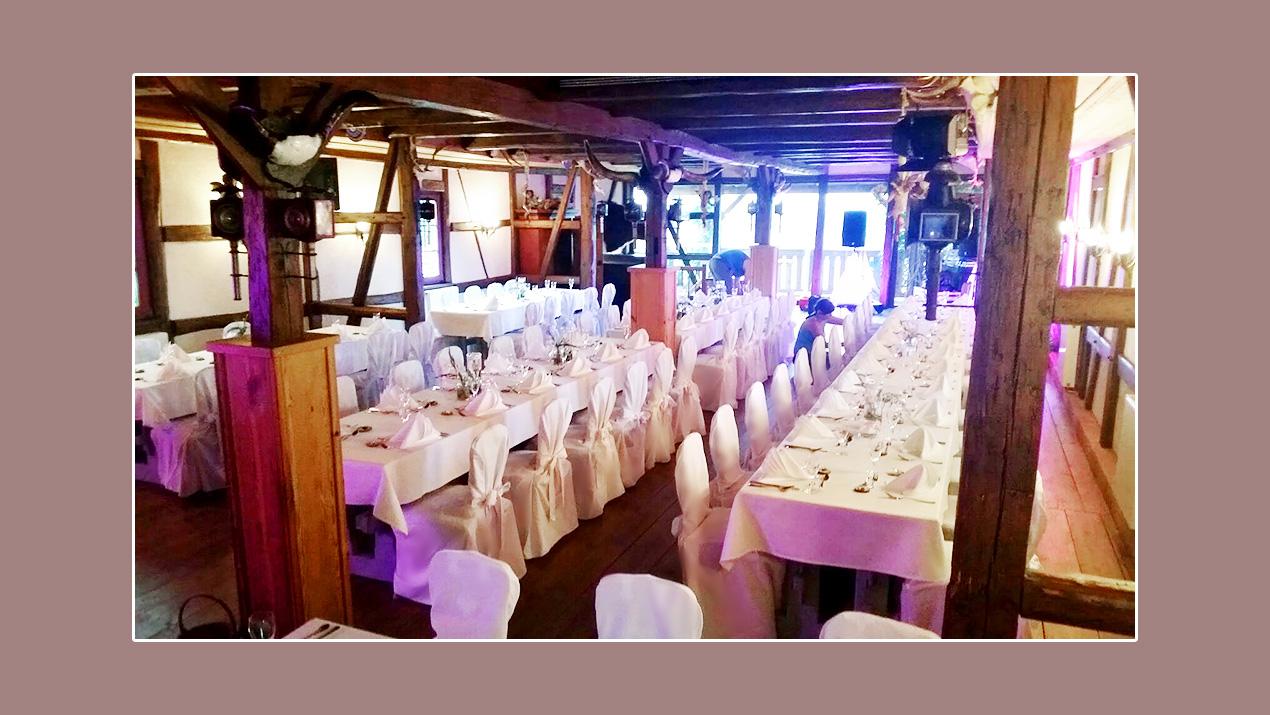 Hochzeit - Hochzeitslocation Gasthof Neu-Schenke - Umgebung Jena, Gera, Zwickauund Plauen