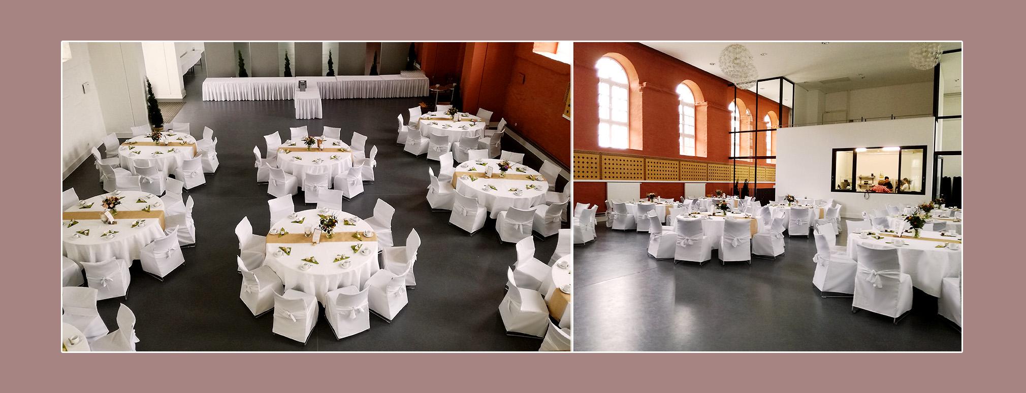 Deko - Hochzeitslocation Marstall Putbus auf Rügen