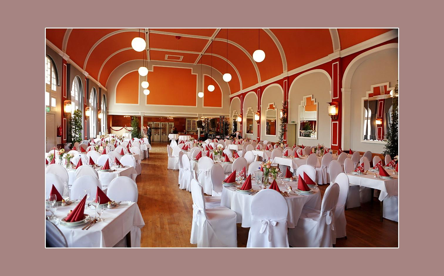 Deko Hochzeitslocation Hotel Tenbrock in Gescher